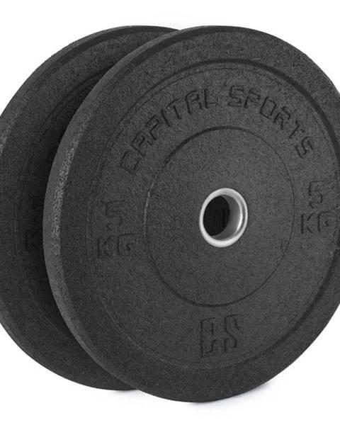 Insportline Gumový kotúč Capital Sports Renit 2 x 5 kg