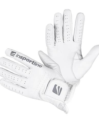 Dámske kožené rukavice inSPORTline Elmgreen Lady krémovo biela - S