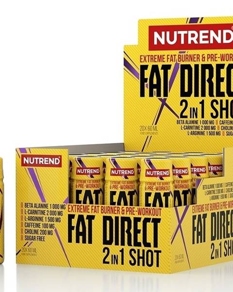 Nutrend Fat Direct Shot (spaľovač plus pumpa) - Nutrend 20 x 60 ml.