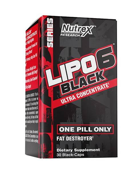 Nutrex Lipo 6 Black Ultra Concentrate - Nutrex 60 kaps.