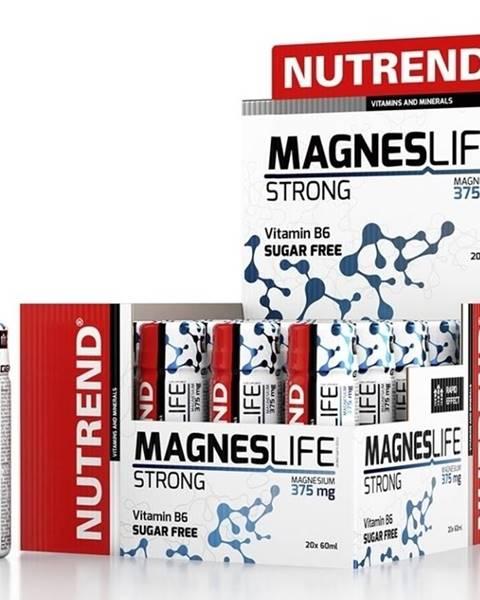 Nutrend MagnesLife Strong - Nutrend 20 x 60 ml.