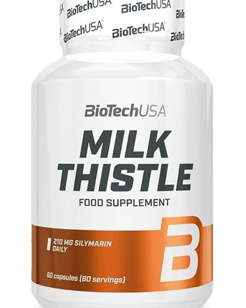 Biotech USA Milk Thistle - Biotech USA 60 kaps.