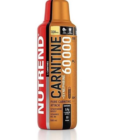 Carnitine 60 000 + Synefrine - Nutrend 500 ml. Yellow Raspberry