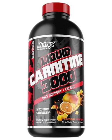 Liquid Carnitine 3000 - Nutrex 480 ml. Berry Blast