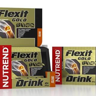 Flexit Gold Drink - Nutrend 10 x 20 g Blackcurrant