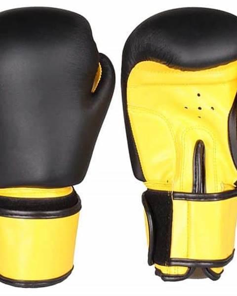 Merco Fighter zápasové boxovací rukavice barva: černá-žlutá;hmotnost: 6 oz