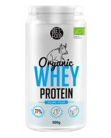 Diet Food Organic Whey Protein 500 g prírodná chuť