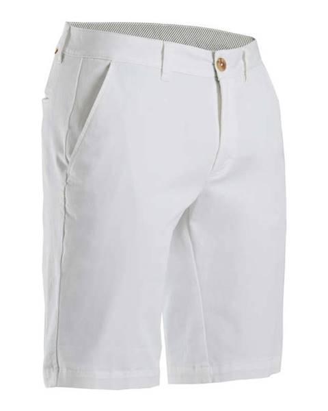 INESIS INESIS Pánske Golfové šortky Biele