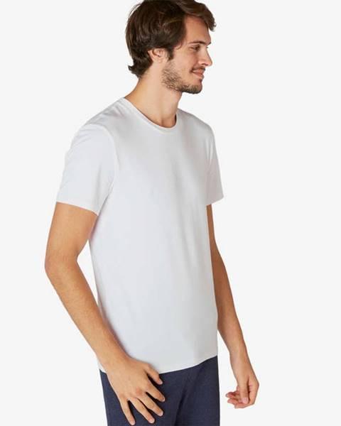 NYAMBA NYAMBA Pánske Tričko 500 Slim Biele