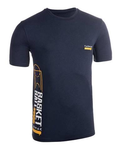 TARMAK Pánske Tričko Ts500 Modré