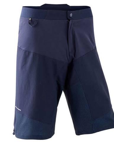 ROCKRIDER šortky Mtb St 500 Modré