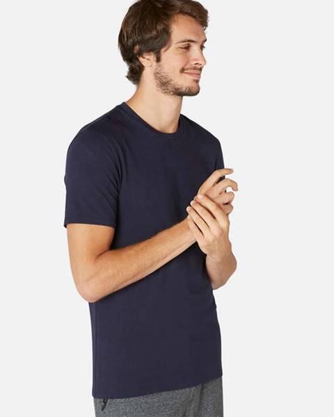 NYAMBA NYAMBA Pánske Tričko 500 Slim Modré