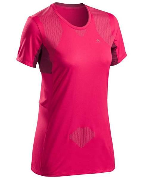 QUECHUA QUECHUA Dámske Tričko Mh900 Ružové