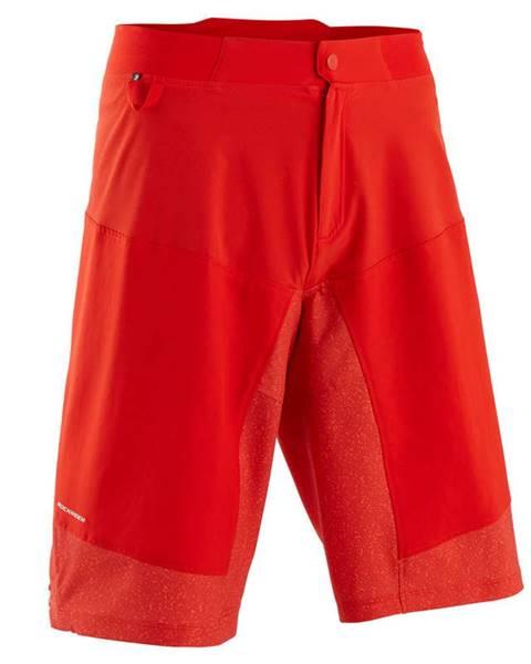 ROCKRIDER ROCKRIDER Mtb šortky St 500 červené