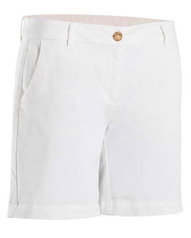 INESIS Dámske šortky Biele