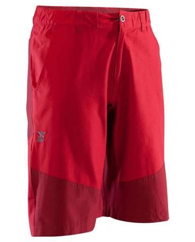 SIMOND Pánske Strečové šortky červené
