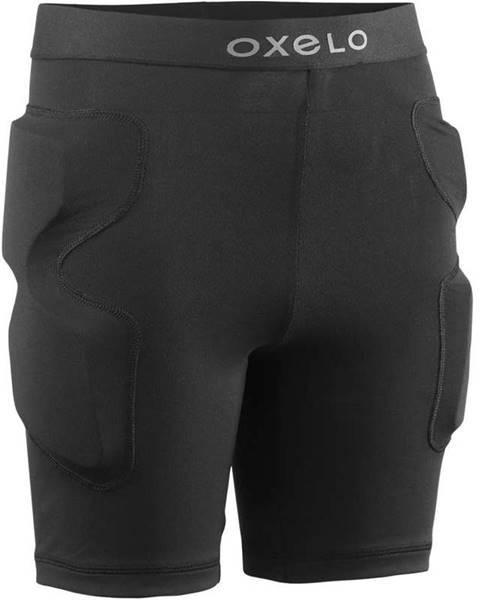 OXELO OXELO Ochranné šortky Ps100 čierne