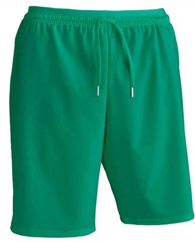 KIPSTA Futbalové šortky F500 Zelené