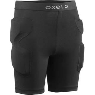 OXELO Ochranné šortky Ps100 čierne