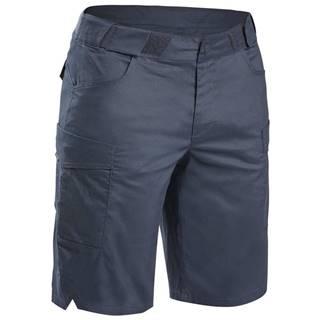 QUECHUA šortky Nh500 Fresh čierne