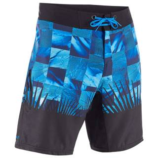 OLAIAN šortky 500 Tropicsquare Modré
