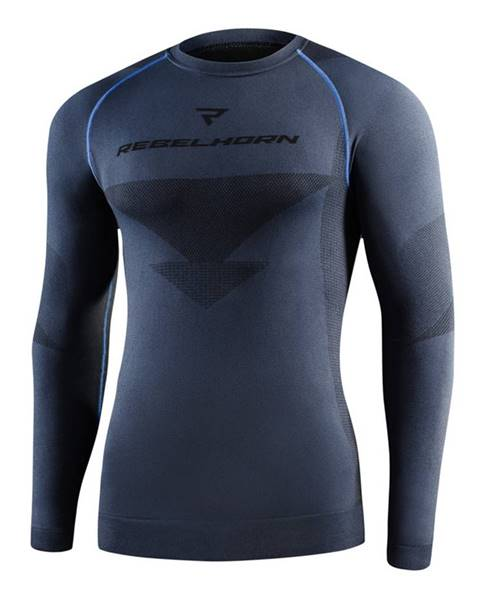 Rebelhorn Moto thermo tričko Rebelhorn Freeze Jersey čierna - XS