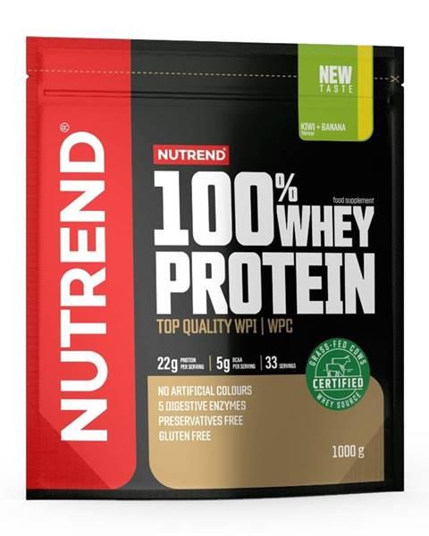 Nutrend Práškový koncentrát Nutrend 100% WHEY Protein 1000g čokoláda-kakao