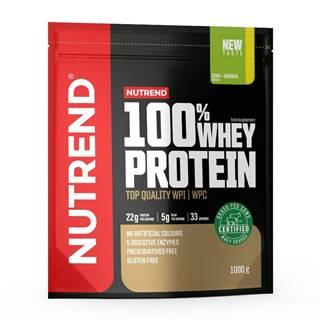 Práškový koncentrát Nutrend 100% WHEY Protein 1000g čokoláda-kakao