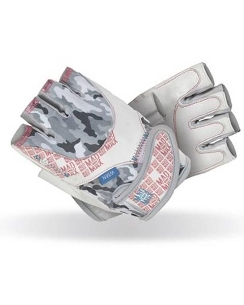 Mad Max Dámske fitness rukavice  Mad Max No Matter biela - L