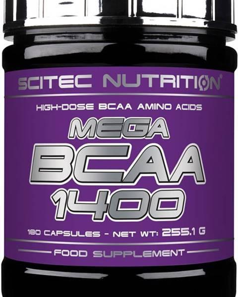 Scitec Nutrition Scitec Mega BCAA 1400 180 kapsúl