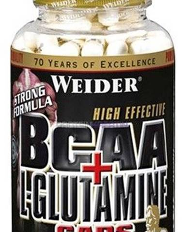 Weider BCAA + L-Glutamine 180 kapsúl