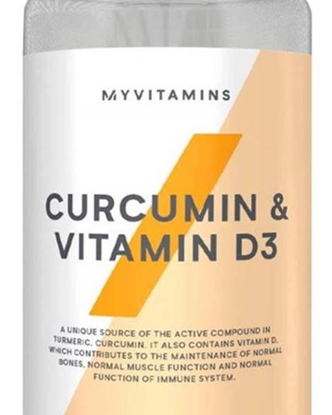 MyProtein MyProtein Curcumin&Vitamín D 60 kapsúl
