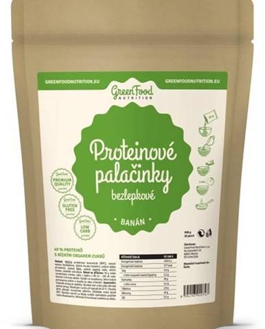 GreenFood Proteínové palacinky bezlepkové 500 g variant: jablko - škorica