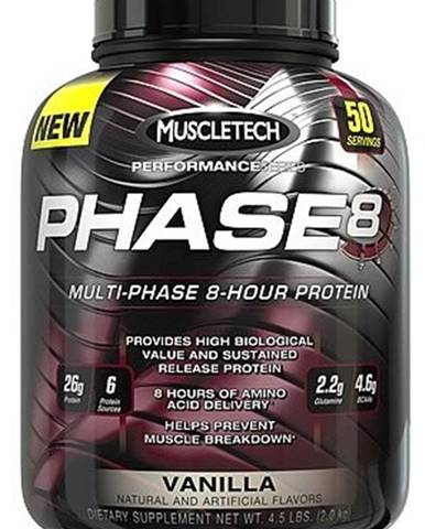 MuscleTech Phase 8 2090 g variant: čokoláda