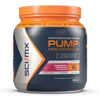Sci-MX Nutrition Sci-MX Pump PRE-WORKOUT 300 g variant: malinová limonáda