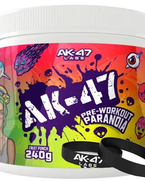AK47 Labs AK47 Labs PRE-WORKOUT Paranoja 240 g variant: citrón - limetka