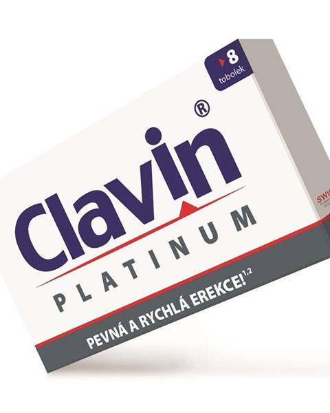 Clavin Clavin Platinum 8 kapsúl