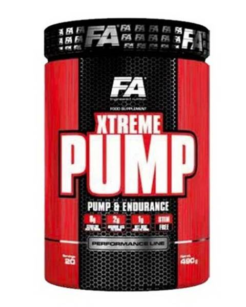 Fitness Authority Xtreme Pump Caffeine Free - Fitness Authority 490 g Exotic