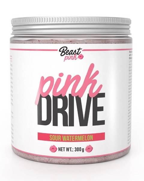 GymBeam Pink Drive - Beast Pink 300 g Sour Watermelon