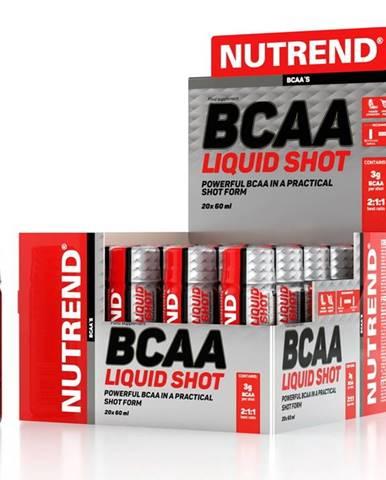 BCAA Liquid Shot - Nutrend 20 x 60 ml.