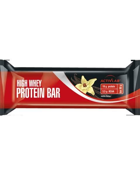 ActivLab ActivLab High Whey Protein Bar 80 g čierne ríbezle