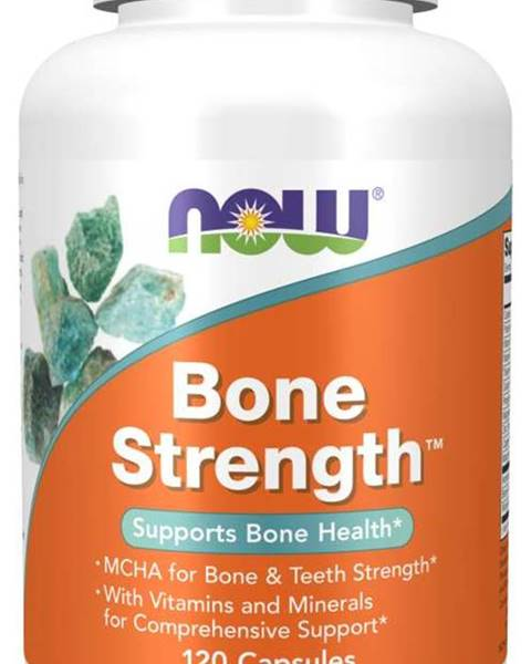 NOW Foods Now Foods Bone Strength 120 kaps.