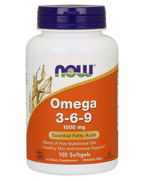 NOW Foods NOW Foods Omega 3-6-9 1000 mg 250 kaps.