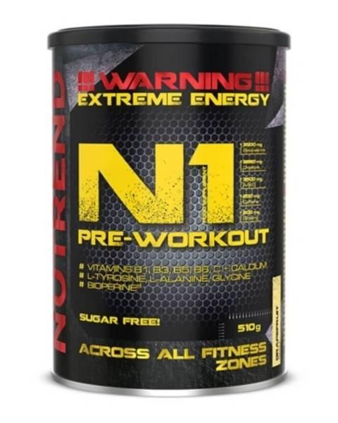 Nutrend NUTREND N1 Pre-Workout 300 g čierne ríbezle