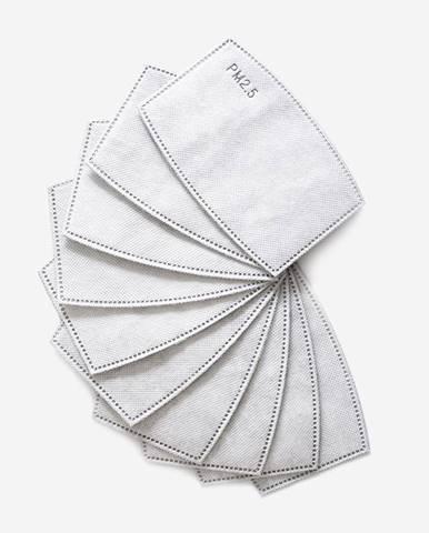 GymBeam Filter PM2.5 do ochranného rúška 10 ks