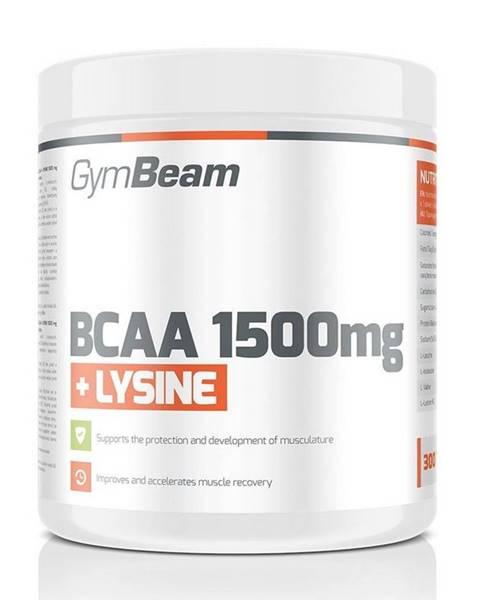 GymBeam BCAA 1500 mg + Lysine od GymBeam 300 tbl.