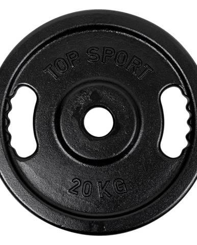 Olympijský liatinový kotúč Top Sport Castyr OL 20 kg