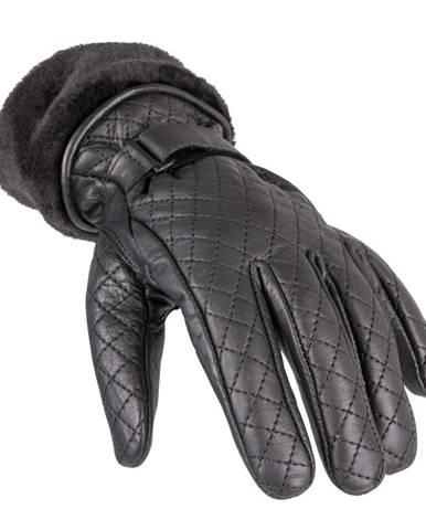 Dámske kožené rukavice W-TEC Stolfa NF-4205 čierna - L