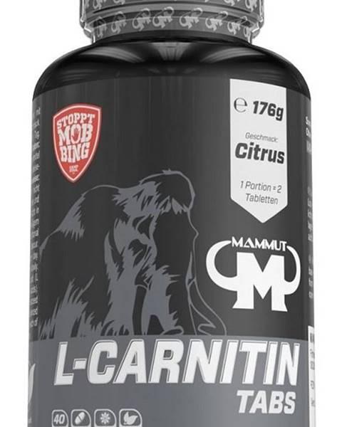 Mammut Nutrition L-Carnitin Tabs (Rozpustné tablety na cmúľanie) - Mammut Nutrition 80 tbl. Citrus