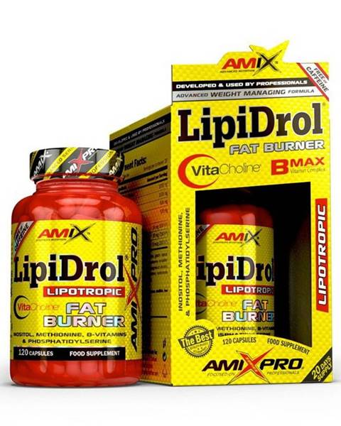 Amix LipiDrol Fat Burner - Amix 120 kaps.